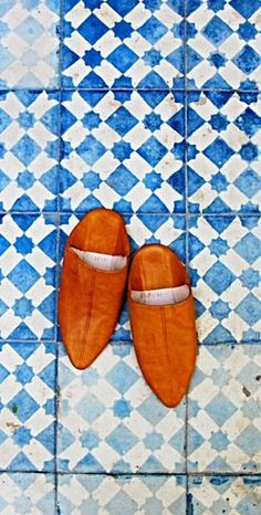 Slippers . Morocco