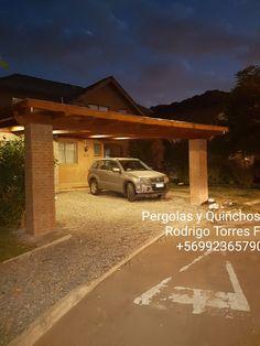 PERGOLAS Y QUINCHOS Outdoor Kitchen Grill, Outdoor Kitchen Design, Patio Design, Carport Plans, Blessed Mother, Backyard Patio, Outdoor Living, Bbq, Gardens