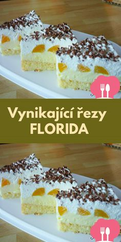 Cake Recipes, Dessert Recipes, Desserts, Florida, Cereal, Cheesecake, Food And Drink, Cooking Recipes, Fruit