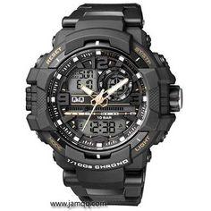 Produk jam tangan Q&Q GW86j004Y original tipe dualtime dengan kualitas original, premium tahan segala medan, cocok untuk digunakan aktifitas olahraga atau outdoor. Water resistant sampai pada kedalaman 100 meter.   Spesifikasi Jam Tangan Q&Q GW86j004Y Dualtime Tipe : Attractive D…