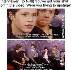 Nouis :) awwwwwwwwwwwwww and Niall, based on girls' reactions... you've got plenty to flaunt :P