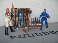 MEGO Planet of the Apes Astronaut and Treehouse parts lot