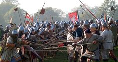 """Battle of Hastings: Winner Takes All 1066 And All That Redux Part Three """"This was a fatal day to England, and melancholy havoc was . 11th Century, Medieval Times, Picts, Dark Ages, Vikings, Battle, Fair Grounds, England, Horses"""