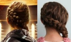 "Here is the 100% authentic Katniss Everdeen Braid, as taught to me by Linda Flowers, the lead hairstylist on ""The Hunger Games"" movie set..."