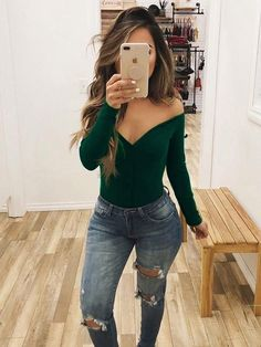 Stylishparis Off Shoulder Sexy Solid Bohemia Jumpsuits