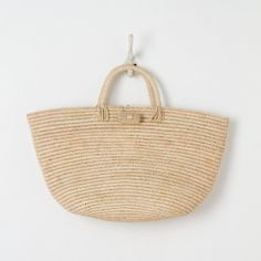 Carved Button Tote | Terrain. Imagine filling this bag with all the goodies your bride will need for her honeymoon.