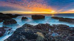 Landscape 4K Ultra HD Wallpaper  | Ocean Sunset 4K Ultra HD wallpaper | 4k-Wallpaper.Net