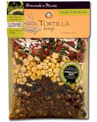 Tortilla Soup Starter Kit from Frontier Soups gives you homemade soup in minutes!