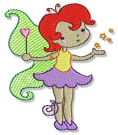 Embroidery | Free Machine Embroidery Designs | Bunnycup Embroidery | Fairy Love