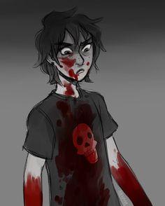 Woah woah woah why's Nico covered in blood