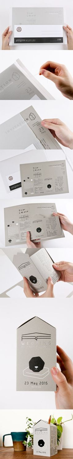 A Showcase of 50 Beautifully Designed Print Invitations To Inspire You – Design School (Beauty Editorial Layout) Layout Print, Layout Design, Print Design, Editorial Design, Editorial Layout, Beauty Editorial, Print Invitations, Wedding Invitations, Wedding Programs