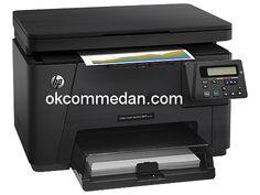 printer HP laserjet warna  m176n