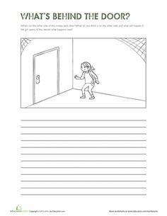 Worksheets: What's Behind the Door?