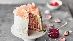 Vanilla Cake, Desserts, Food, Tailgate Desserts, Deserts, Eten, Postres, Dessert, Meals