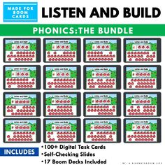 If students struggle with decoding words, then they tend to struggle with reading words in text too. Here are some phonological awareness activities to support struggling readers. Kindergarten First Week, Kindergarten Special Education, Kindergarten Worksheets, Phonological Awareness Activities, Phonics Activities, Hands On Activities, Hearing Sounds, Word Cat, Made Up Words