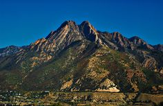 Twin peaks from the summit of mount olympus wasatch mountains climbed mount olympus 3 times elevation 9026 sciox Choice Image