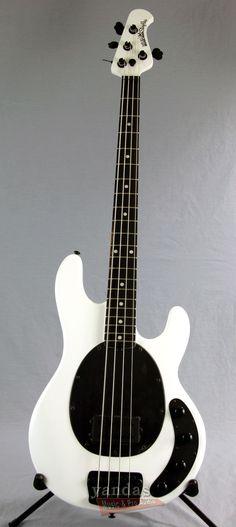 e897d203e1b3d3 Music Man Stingray 4 Bass Guitar   Stealth Pearl Finish Guitar Girl, Music  Guitar,
