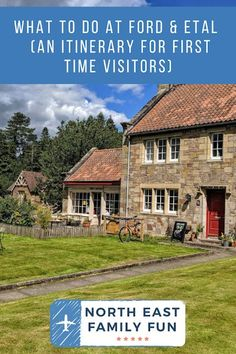 What to do at Ford & Etal (an itinerary for first time visitors) Days Out With Kids, Family Days Out, Travel Inspiration, Travel Ideas, Travel Tips, Heritage Railway, Public Transport, Northern Ireland, Family Travel