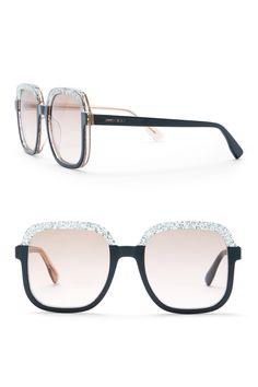 dcd00231fe8 Women s Glint 53mm Square Sunglasses by Jimmy Choo on  nordstrom rack Eye  Candy