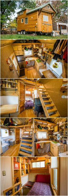MitchCraft Tiny Homes Design House Perfect for a Bookworm - Colorado-based builder, MitchCraft Tiny Homes, is known for their passion for sustainability and well-built tiny houses so we're always excited to see them roll out new custom builds. The latest is one that they're calling the Bookworm.