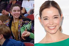 Marguerite Moreau starred in all three Ducks movies but is probably better known these days for her role in Wet Hot American Summer. She has most recently been seen in recurring roles on Shameless and Parenthood. #snakkle #celebs #hockey