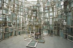 A Room of Memory by Chiharu Shiota