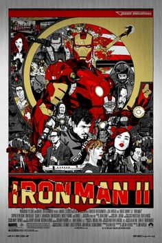 Iron Man II, Mondo edition.
