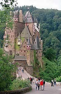 Burg Eltz is one of the best-preserved medieval castles in Europe.