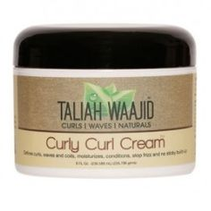 Taliah Waajid Curly Curl Cream 8 oz  $6.29   Visit www.BarberSalon.com One stop shopping for Professional Barber Supplies, Salon Supplies, Hair & Wigs, Professional Product. GUARANTEE LOW PRICES!!! #barbersupply #barbersupplies #salonsupply #salonsupplies #beautysupply #beautysupplies #barber #salon #hair #wig #deals #sales #TaliahWaajid #Curly #Curl #Cream