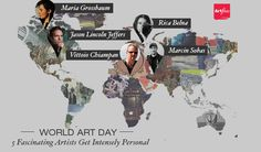 World Art Day: 5 Fascinating Artists Get Intensely Personal