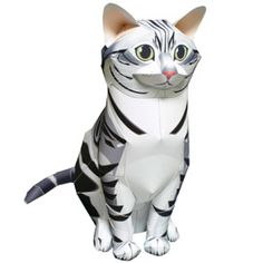 American Shorthair - Dogs / Cats - Animals - Paper Craft - Canon CREATIVE PARK