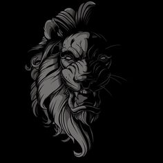 Experimenting. #sweyda #lion #vector #illustration #shadows