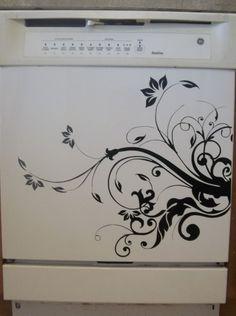 Dishwasher Appliance - Vinyl Decal - Village Vine Press