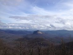 Looking Glass Mountain... a classic WNC icon. Photo by Taylor Ladd.