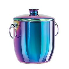The perfect match for contemporary home décor, the Oggi Stainless Steel Ice Bucket is a great addition to any kitchen. With a capacity, the steel ice bucket is an ideal size for home entertaining. Black Kitchen Cabinets, Black Kitchens, Kitchen Cupboard, Kitchen Appliances, Rainbow Kitchen, Gadgets, Contemporary Home Decor, Home Pictures, Kitchen Items