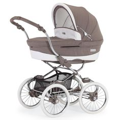 Kinderwagen Stylo Class EM328 silver mink Magic Collection