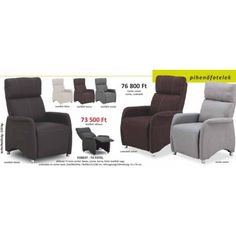 Fotel VEJEN fekete | JYSK | Chair, Furniture, Recliner