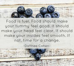 Food is FUEL!