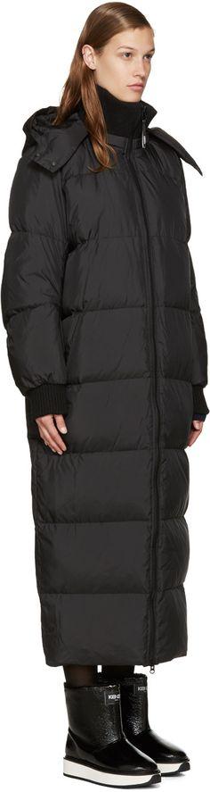 Kenzo - Black Down Long Coat                                                                                                                                                                                 More