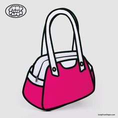 Purchase Jump from Paper First Date from Way Basics on OpenSky. Share and compare all Accessories. 2d Bags, Jump From Paper, Paper Purse, Paper Bags, Puppy Backpack, Cartoon Bag, Cartoon Paper, Cartoon Crazy, Cartoon Drawings