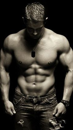 Don't know what his name is...but with a body like that, does he really need a name other than Hottie McHotster?!