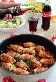 Piersi kurczaka w sosie śliwkowym - MniamMniam.pl Healthy Dishes, Healthy Eating, Healthy Recipes, Snacks Für Party, Brunch Recipes, Food Inspiration, Food To Make, Chicken Recipes, Sandwiches