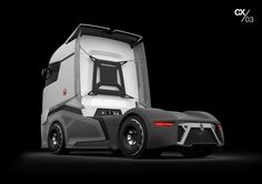 AutoMonthly, we got all the news of the auto industry, including trucks, bikes and buses: Renault Trucks CX/03 Concept [Video]
