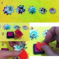 Aprenda a fazer uma flor de papel no lápis. Uma excelente ideia para presentear professoras na escola dos seus filhos.