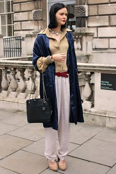 Street Style at London Fashion week on >> Etrala London Blog #StreetStyle #LFW #London