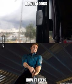 Bus windows...