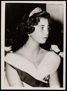 Spanish Royals | Princess Sophia of Greece and Denmark with the Prussian tiara