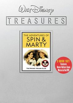 Walt Disney Treasures - The Adventures of Spin & Marty - The Mickey Mouse Club Buena Vista Home Video