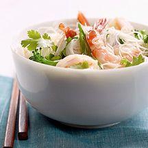 WW Saigon Shrimp and Cellophane Noodle Salad:  4 servings; 8 points+ per serving