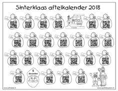 Digitale aftel- en scheurkalender Sinterklaas 2018